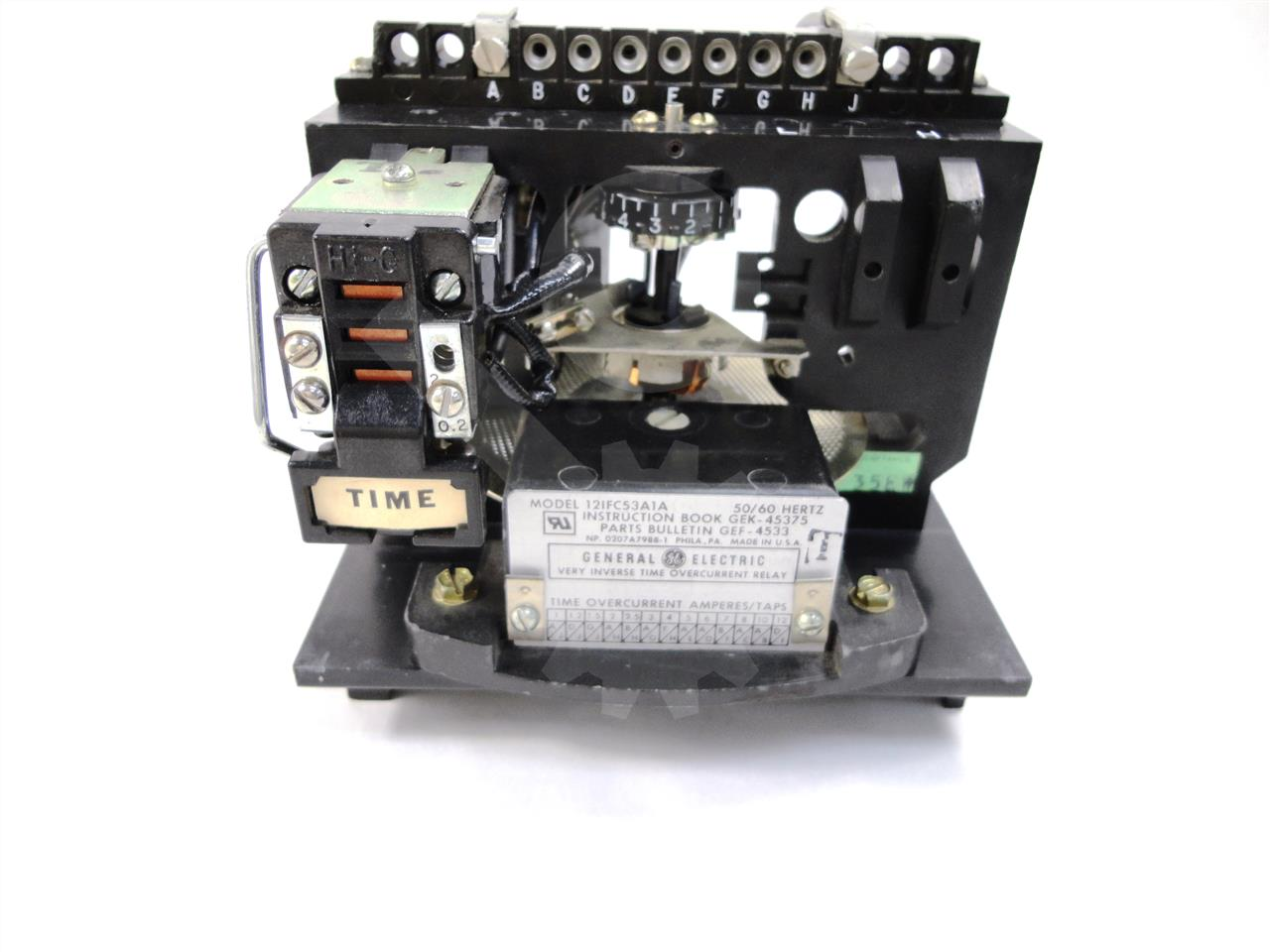 General Electric Ge Ifc Time Over Current Relay