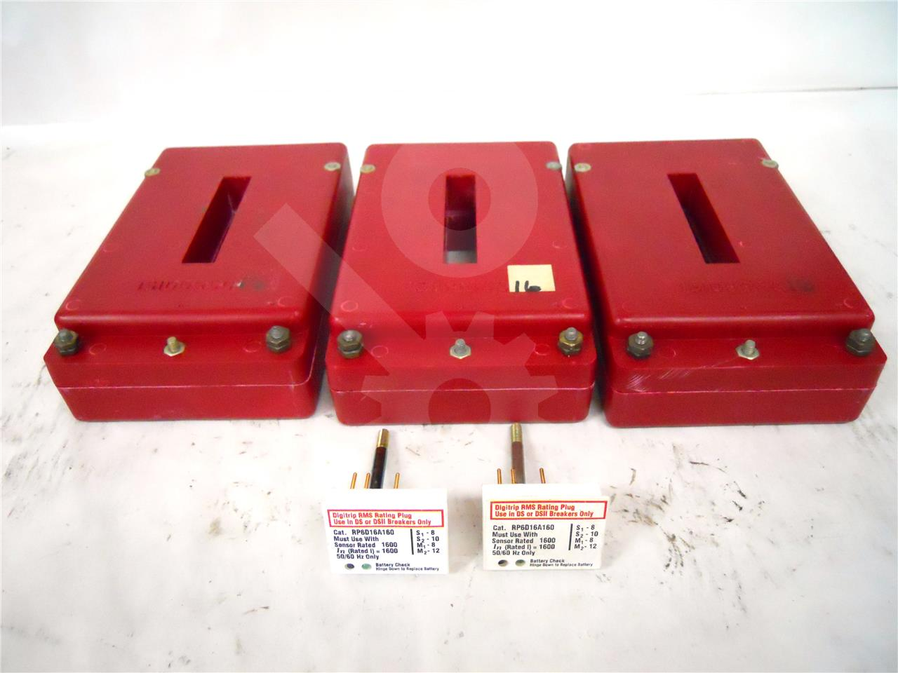 1600A WH CURRENT TRANSFORMER, AMPTECTOR / DIGITRIP