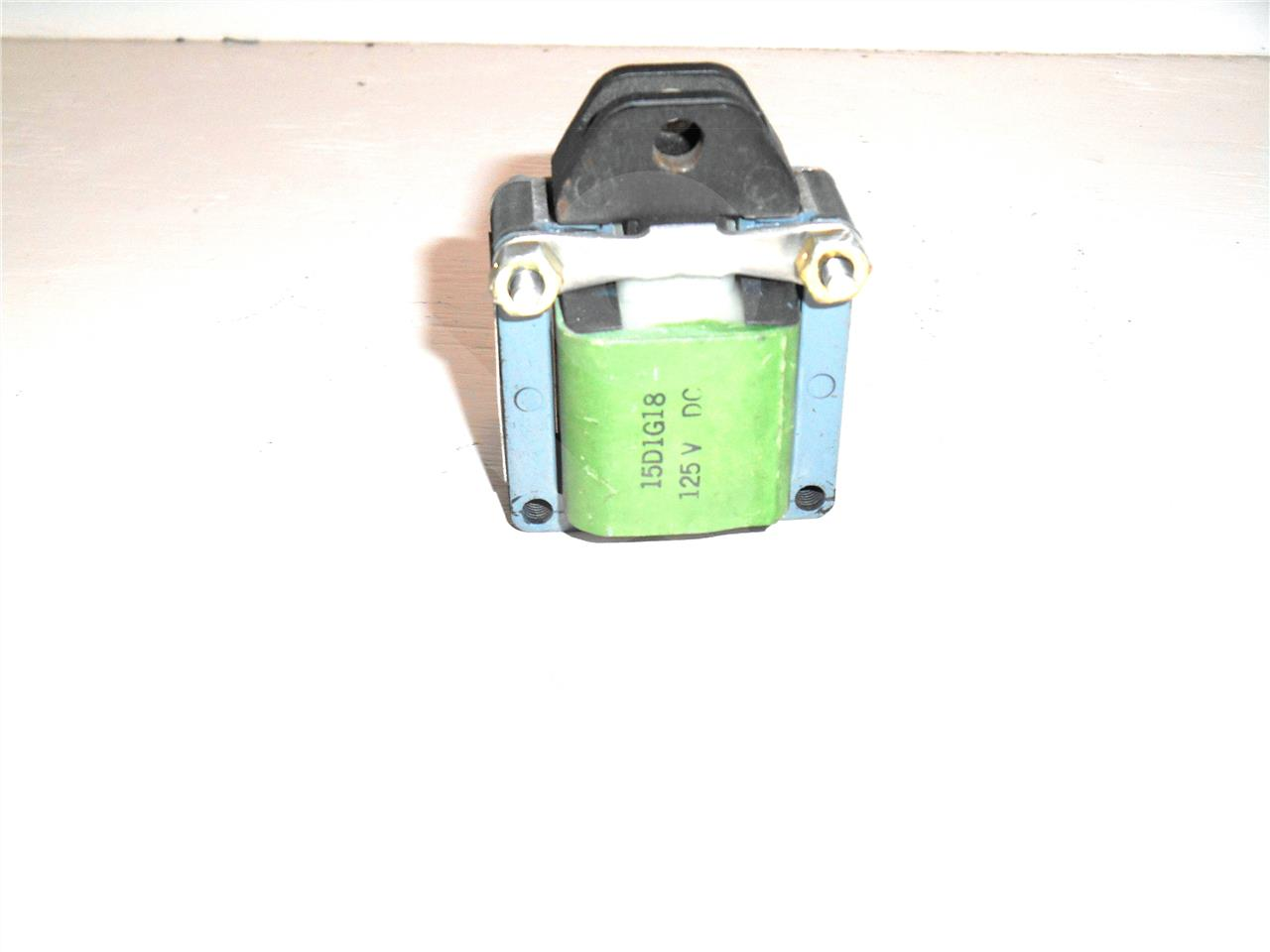 GE 125VDC CLOSING SOLENOID ASSEMBLY