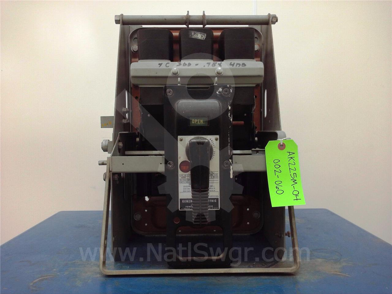 Ak 2 25 600a Ge General Electric Mo Do Nelson Cradle