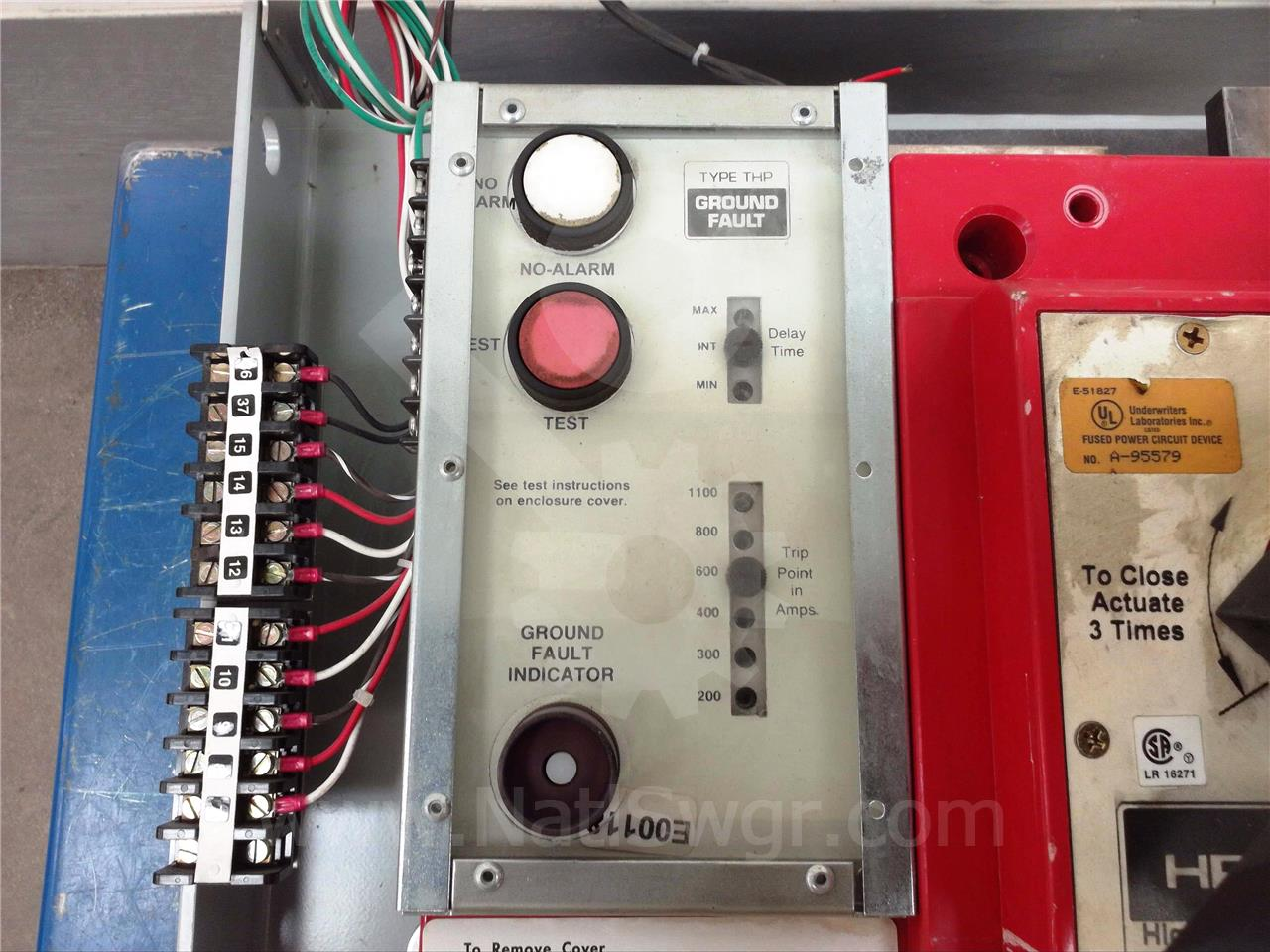 GE THP GROUND FAULT RELAY