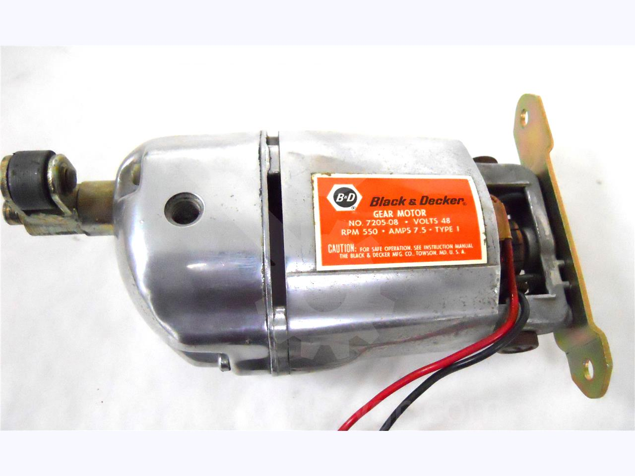 WH 48VDC CHARGE MOTOR