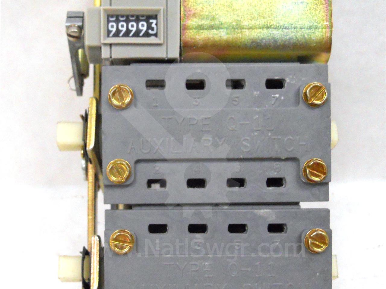 SA DUAL AUXILIARY SWITCH ASSEMBLY 4NO/4NC