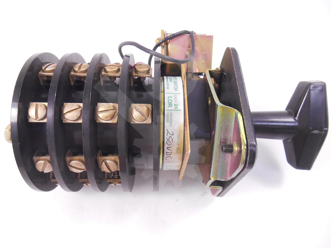 General Electric Ge Es 102 Toc Switch Assembly 3no 3nc