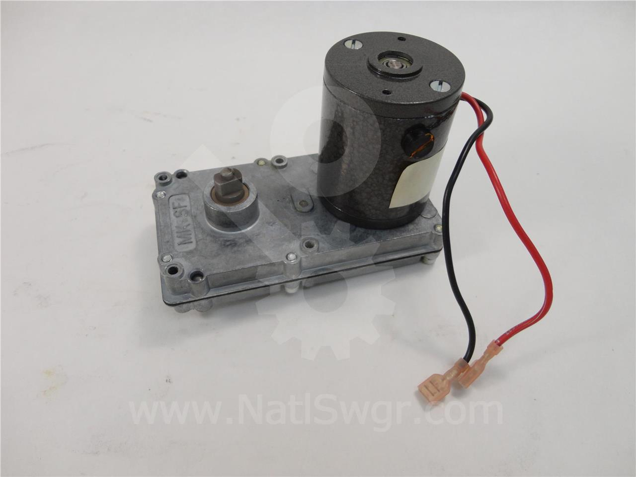 WH 125VDC/120-240VAC MALE DRIVE CHARGE GEAR MOTOR