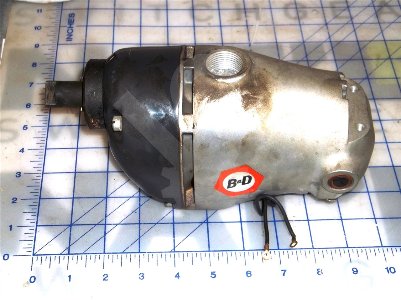 AC 120VAC/DC CHARGE MOTOR
