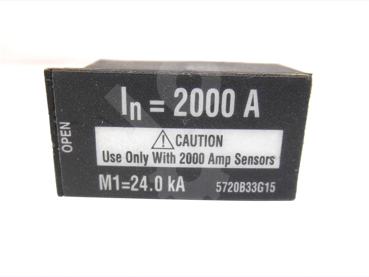 2000A CH RATING PLUG 2000A CT
