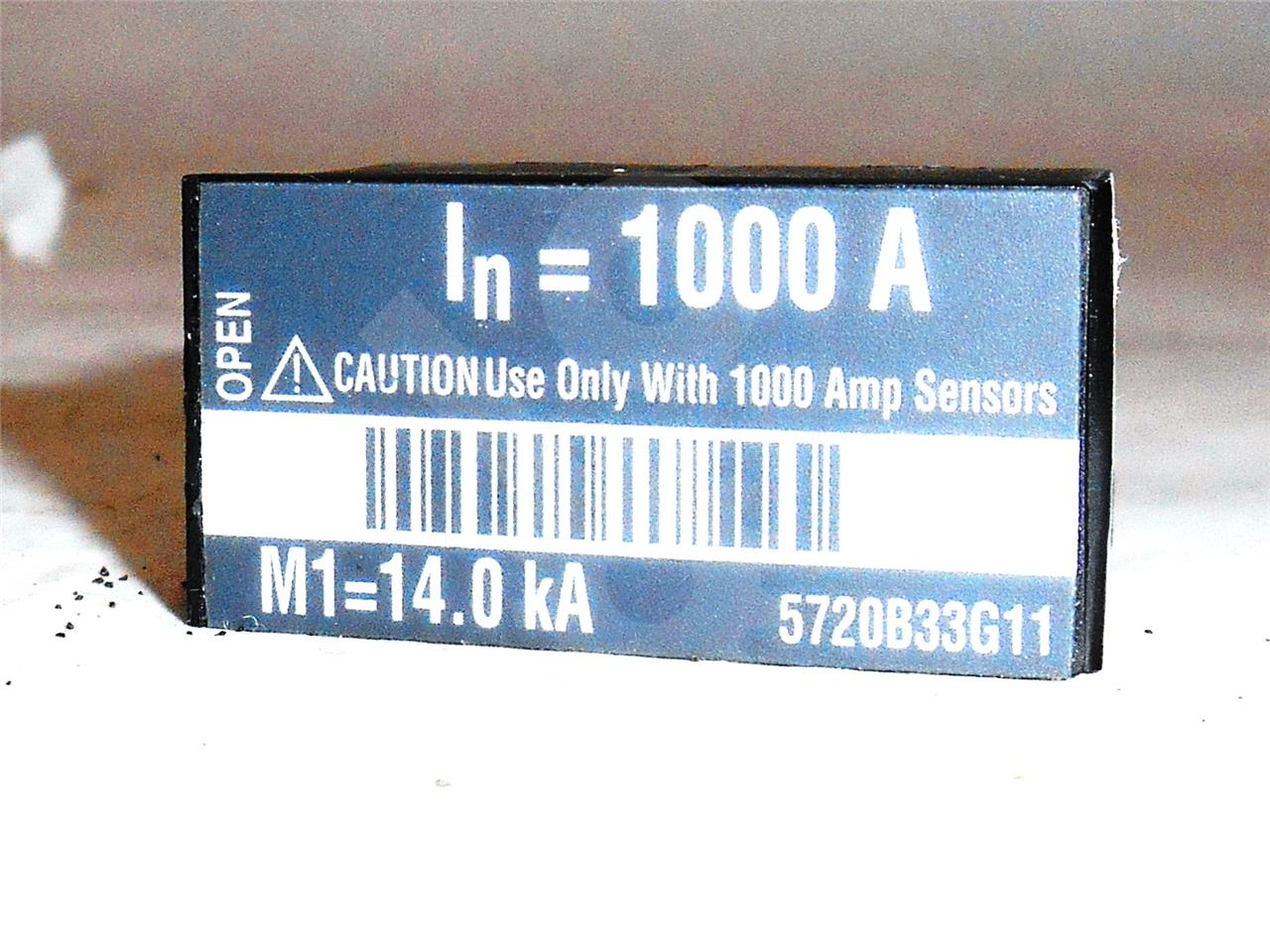 1000A CH RATING PLUG, 1000A CT