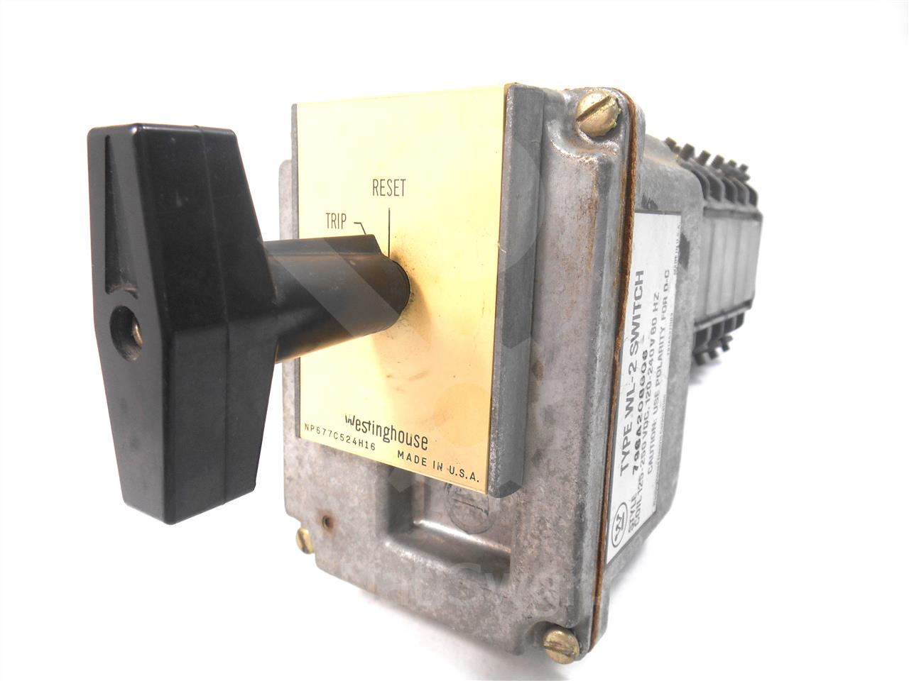 WH TYPE W2 125-250AC/DC LOCKOUT RELAY 5 STAGE
