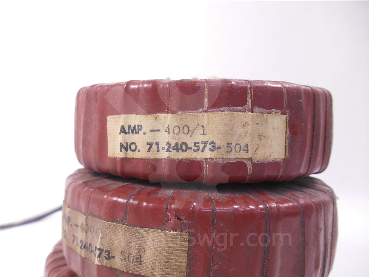 400A SA CURRENT TRANSFORMER STATIC TRIP II