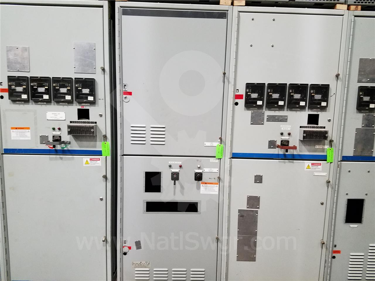 General Electric 15kv Ge Vb Vb1 Indoor Switchgear