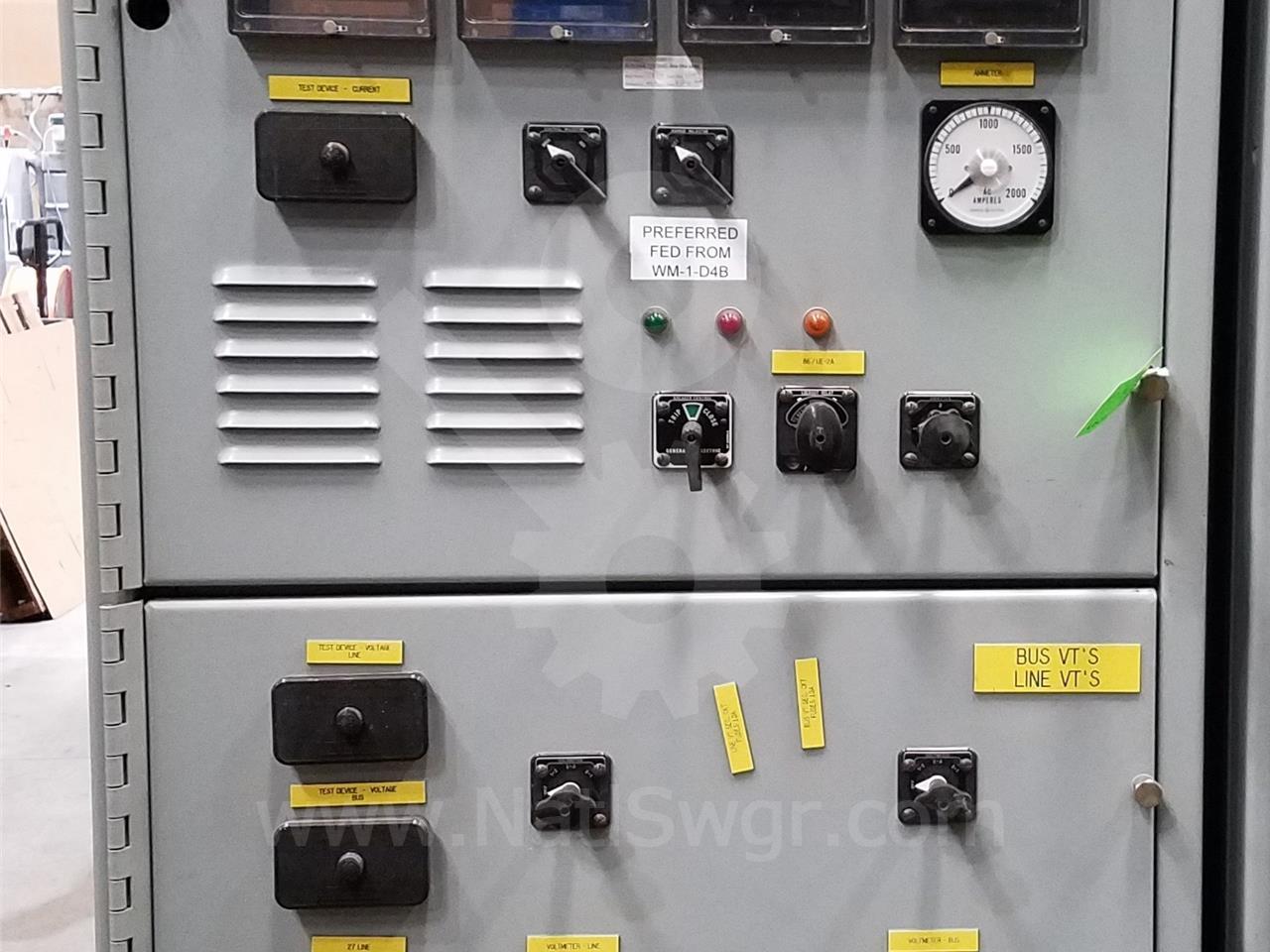 General Electric 5kv Ge Vb Vb1 Indoor Switchgear