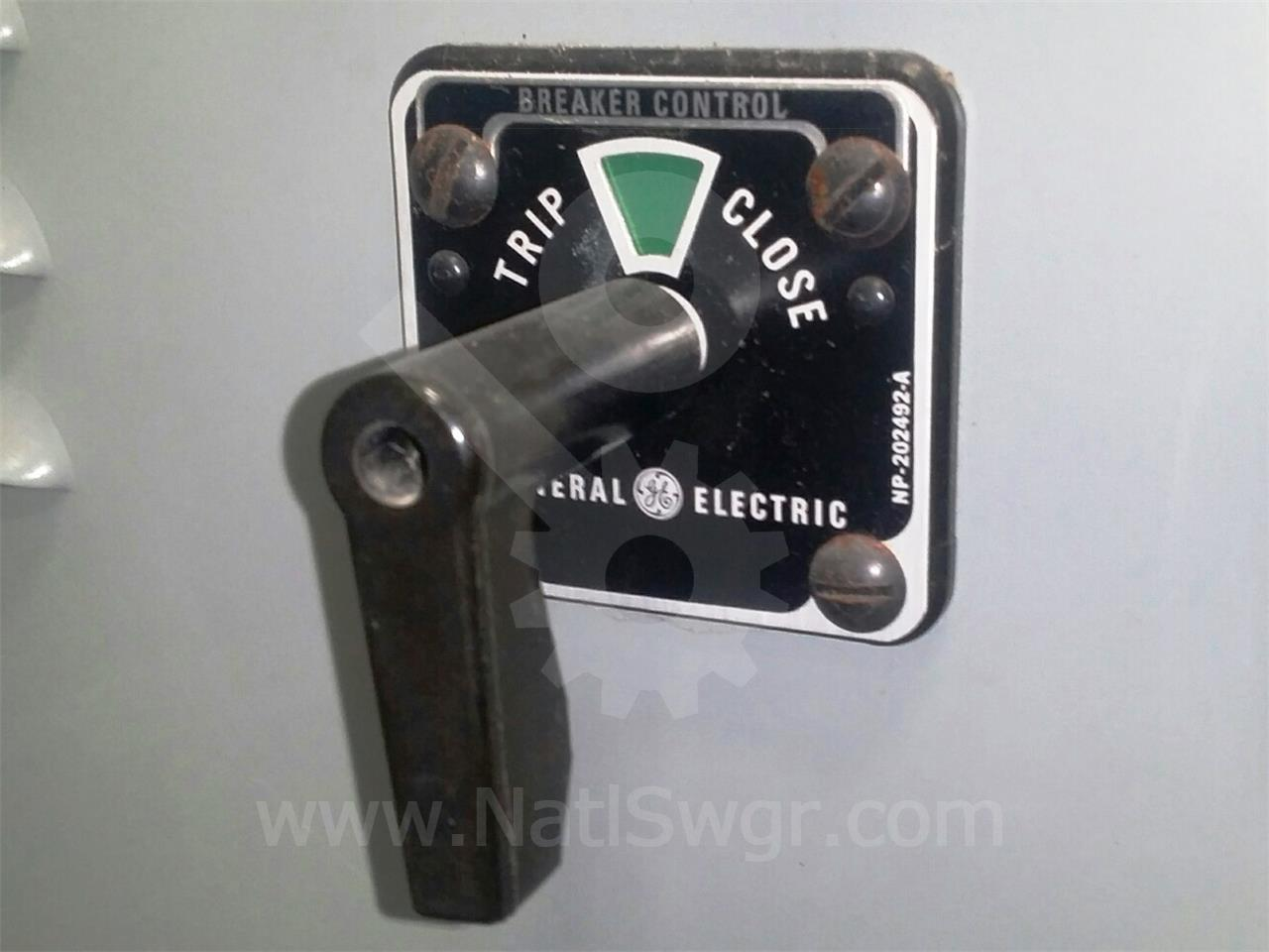 GE SBM CIRCUIT BREAKER CONTROL SWITCH