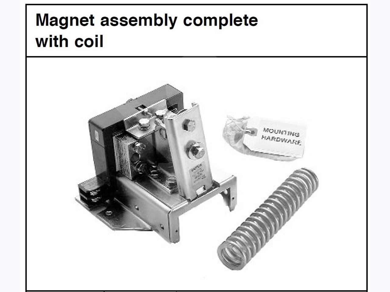WH 120VAC CLOSE COIL AND MAGNET ASSEMBLY