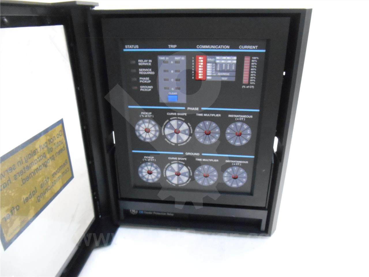 General Electric Ge Multilin Sr735 Feeder Protection Relay