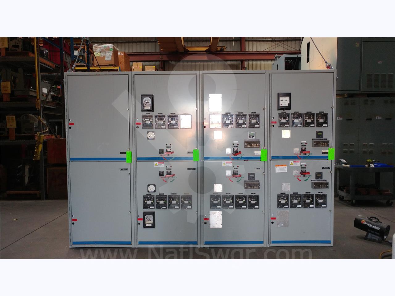 General Electric 15kv Ge Vb Vb1 Indoor Switchgear Line Up