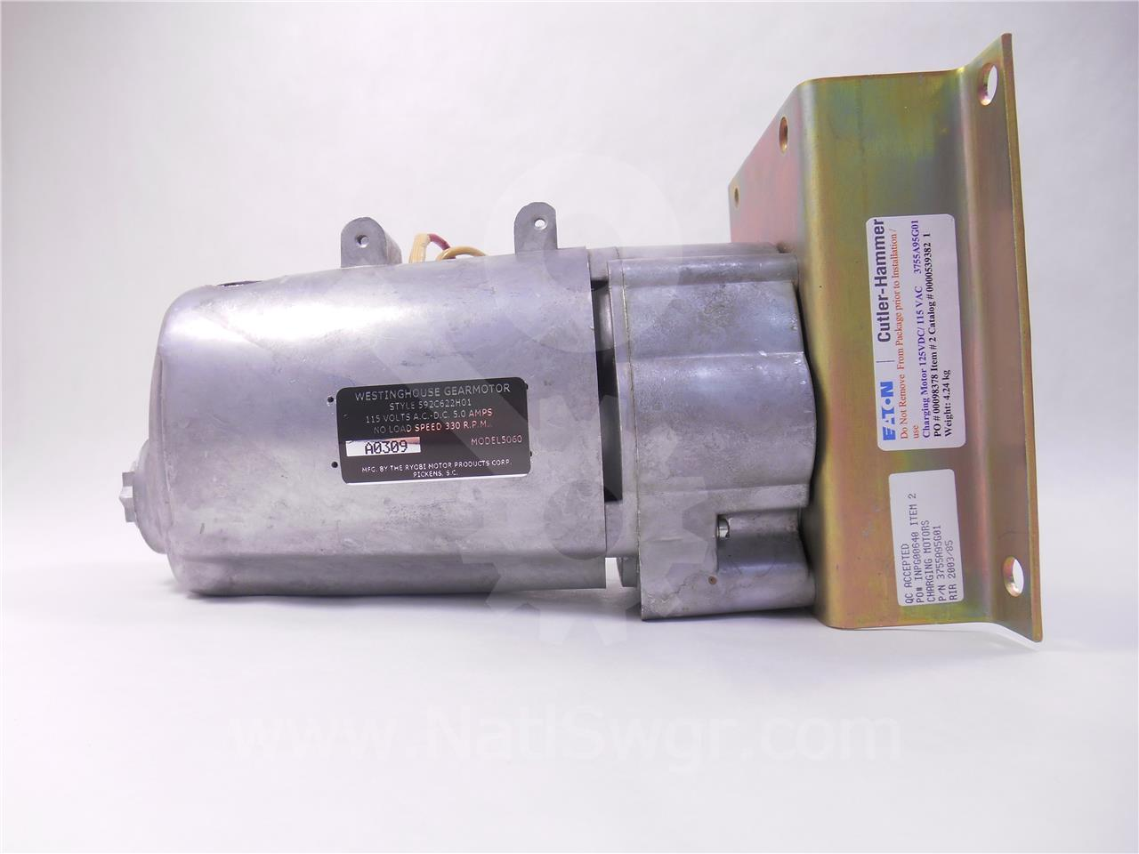 WH 120VAC/DC CHARGE MOTOR UNUSED SURPLUS