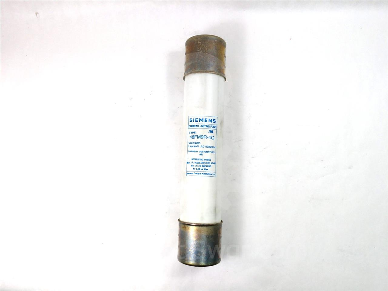 9R SA POWER FUSE 4.8KV UNUSED SURPLUS