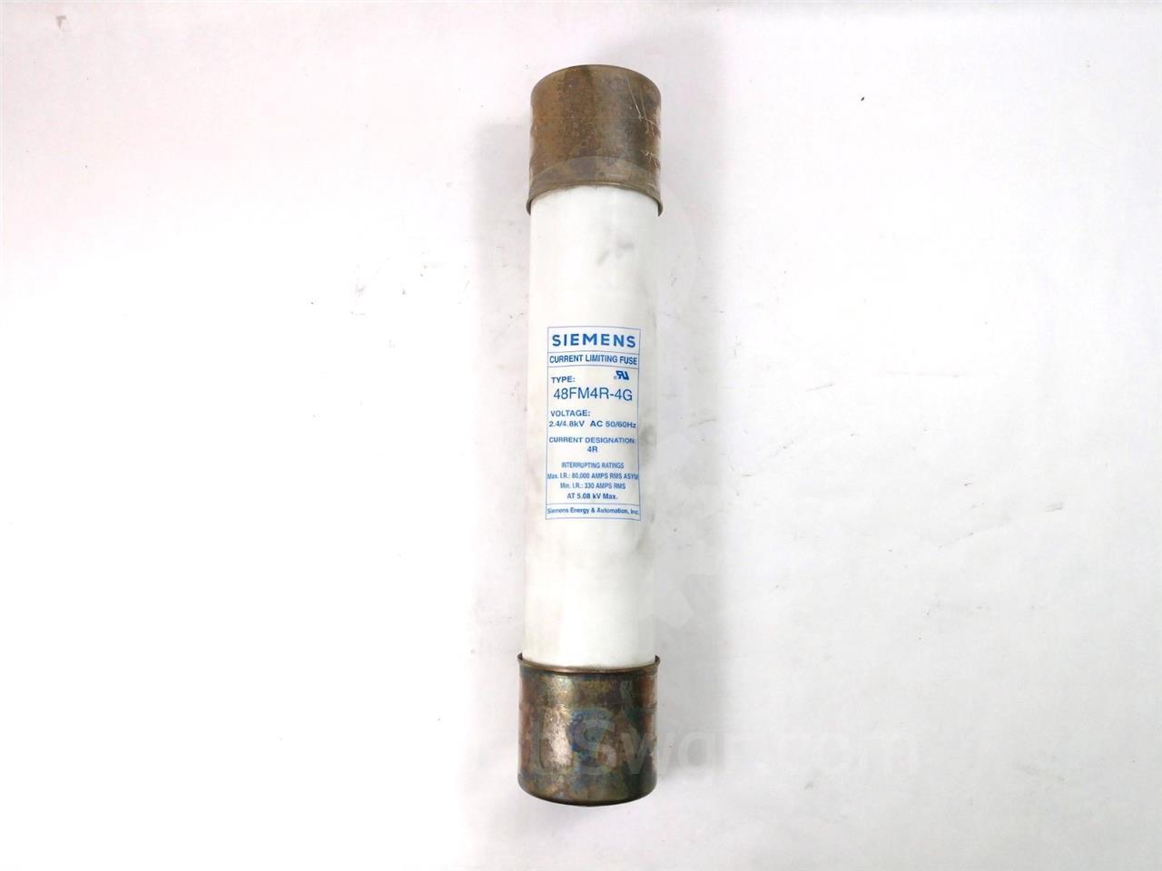4R SA POWER FUSE 4.8KV UNUSED SURPLUS