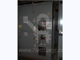 3200A GE AKD-10 FUSED INDOOR SWITCHGEAR 001-124