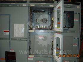 4000A GE AKD-8 FUSED INDOOR SWITCHGEAR 009-080
