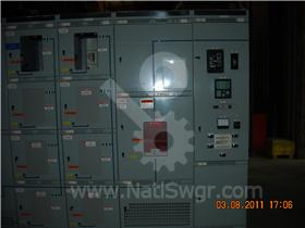 4000A GE AKD-8 INDOOR SWITCHGEAR 009-085